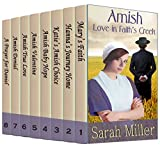 Amish Love in Faith's Creek: 8 Complete Books in one Boxed Set: Inspirational Amish Romance Bundle