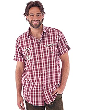 Orbis Trachtenhemd Eddi rot