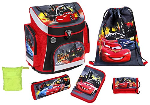Scooli Schulranzen Set Campus Plus Disney Cars 2015, 6 teilig