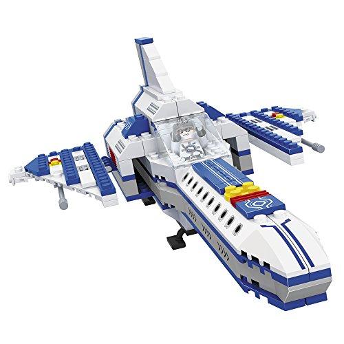 Ausini - Juego de construcción Nave espacial - 262 piezas (ColorBaby 42254)