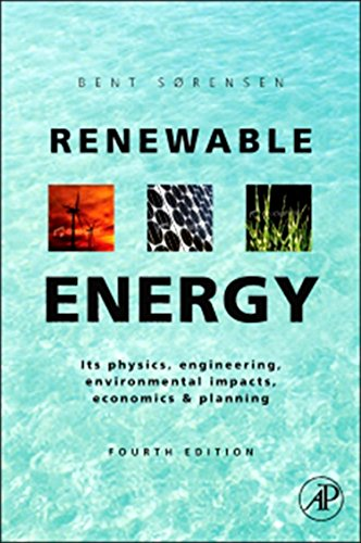 Renewable Energy: Physics, Engineering, Environmental Impacts, Economics & Planning por Bent Sorensen