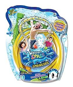 Xtrem Toys 00320 - Cuerda de Saltar con Agua para niños a Partir de 6 años, Ideal para el jardín, en Verano, fácil de conectar a la Manguera de jardín