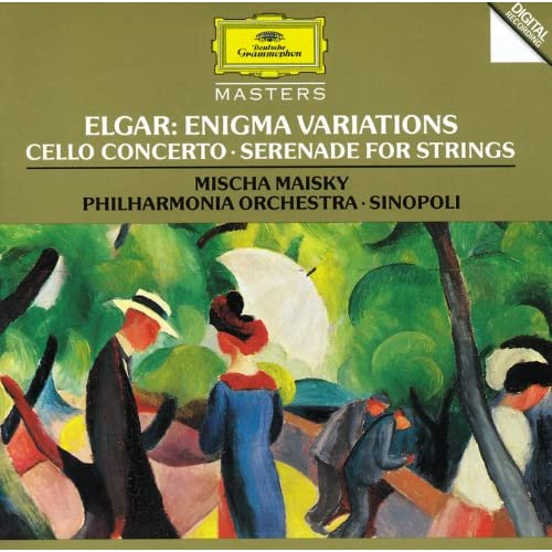 Elgar: Enigma Variations; Cello Concerto; Serenade For Strings
