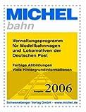 Michel-bahn.Verwaltungsprogramm für Modellbahnwagen und Lokomotiven der Deutschen Post.Win 2000, XP. CD-ROM.