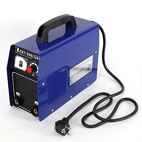 Inverter-Schweißgerät HaroldDol ZX7-200 Elektrodenschweißgerät Profi Elektroden Schweißmaschine 120A Schweißinverter inkl. Kabel