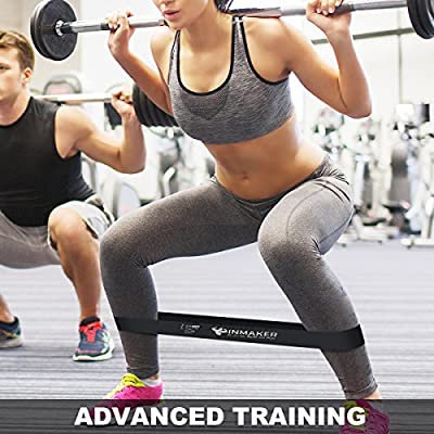 Inmaker Resistance Bands for Women and Men, Exercise Bands for Legs and Glutes, Set of 5, Free Workout EBook, Carry Bag, Online Videos and Manual from INMAKER