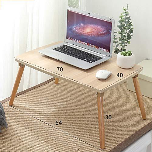 YQ WHJB Laptop Bett Tablett Schreibtisch,Folding Laptop-Schreibtisch,Portable Computertisch Für Wohnheim Holz Das Frühstück Servieren Mini Picknicktisch-s 70x40x30cm(28x16x12inch)