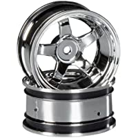 HPI Racing 3593 Work Meister S1 Rims, 26mm/9mm Offset, Chrome
