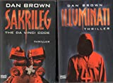 2 X Dan Brown: Illuminati / Sakrileg (Thriller) - Dan Brown