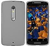 mumbi Schutzhülle Motorola Moto X Play Hülle transparent schwarz - 2