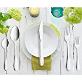 AckMond 20-Piece, Cutlery,Home Use Stainless Steel Western Tableware Dinnerware Set knife fork spoon teaspoon, Service for 4