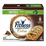 Nestlé Fitness Delice Duo Barretta Cereali al Cioccolato e Crema al Latte - 135 gr