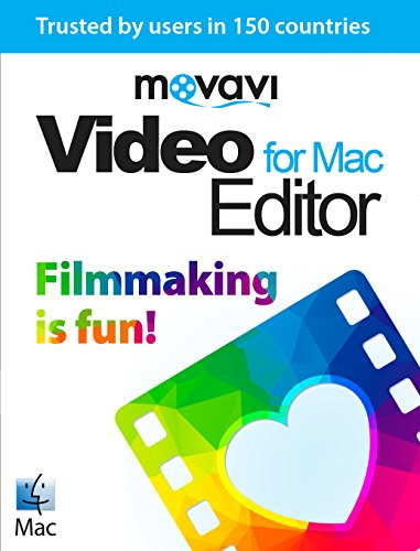 Movavi Video Editor for Mac 4 Persönliche Lizenz [Download] (Hd-tv-tuner-mac)