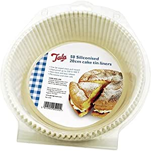 Tala Siliconised Cake Liners