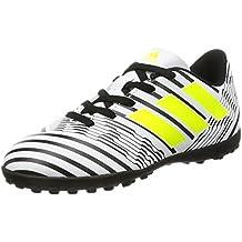 Adidas Nemeziz 17.4 TF J, Botas de fútbol Unisex niños
