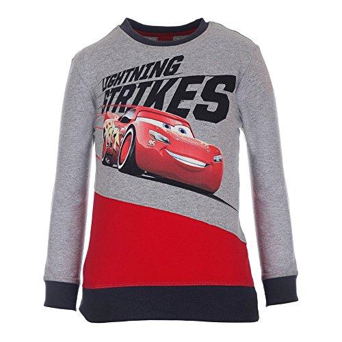 Disney-Cars Jungen Sweatshirt 74493 Grau (Grau/Rot 217), 128 Preisvergleich