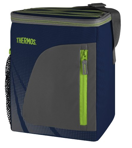 Polyester-walking Shorts (THERMOS 4081.252.085 Kühltasche Radiance, Polyester Blau 8,5 l, IsoTec Premium Isolierung, BPA-Free)
