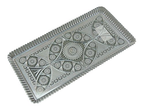 Kuchenplatte 28x15cm Kunststoff, rechteckig