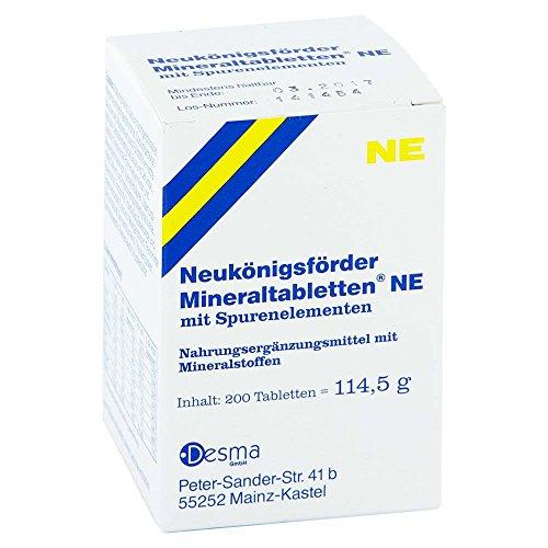 Neukönigsförder Mineralta 200 stk