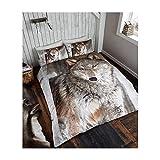 Questi bellissimi animali tridimensionali Set copripiumino, look stupendo e un nuovo look elegante al room.They feel lovely a dormire e può fornire ogni camera da letto, con un ulteriore tocco di glamour senza costi.