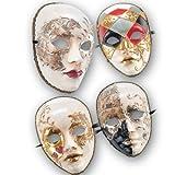 LIBROLANDIA 00641 Maschera in cartapesta decorata 4 col.ass.in busta