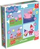 Peppa Pig 4-in-1 Jigsaw Puzzles in a Box (4/6/9/16 Pieces)