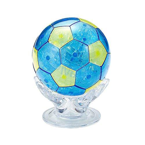 3D Crystal Puzzle 77 Stück 3D Puzzle Lernspielzeug Kinderspielzeug - Fußball