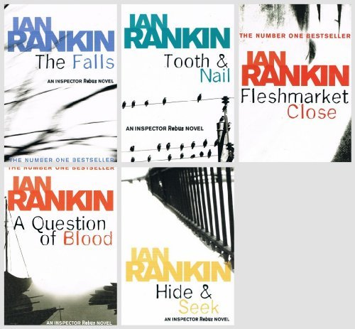 Ian Rankin - 5 Rebus books: (A Question of Blood / The Falls / Hide & Seek / ...