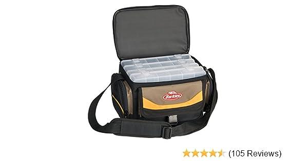 b2935096c7af8 Berkley Gerätetasche Bag System inkl. 4 Boxen Grau Gelb Schwarz  Amazon.de   Sport   Freizeit