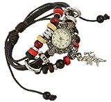 Wei fei Herren und Damen Leder Armband Armbanduhr Retro Tisch Dekoration Tisch