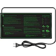 Lerway Haustier Wärmeplatte Temperatur Heizung Schlange Heizer Anzucht Reptilien Heizmatte Wärmequelle Wärmematte 17.5W mit EU Stecker 230V