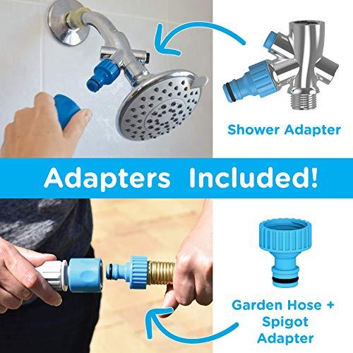 Aquapaw Haustierdusche Sprayer - Multifunktionales Badezimmerwerkzeug - Kombinationssprüher und Schlauchmassage