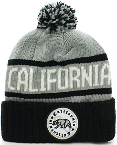 f6557380128 Absolute accessory 0847714141793 Absolute Clothing California Republic Cuff  Beanie Cable Knit Pom Pom Hat Cap- Price in India