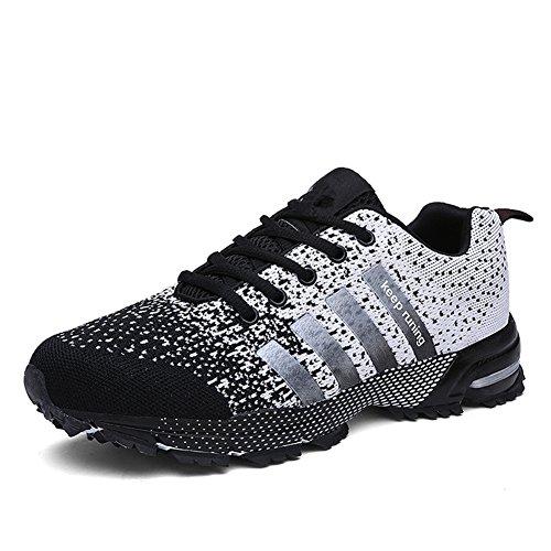 laufschuhe-herren-damen-leicht-wanderschuhe-gute-qualitat-sneaker-schwarz-45