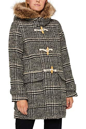 Esprit 099ee1g006 Abrigo, Gris Dark Grey 020, XX-Large para Mujer