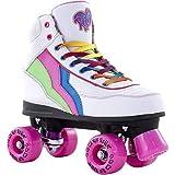 Rio Roller Classic II Candi Quads Rollschuhe Disco Roller weiß candi, 42