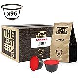 Note D'Espresso Amabile, Capsule per caffè, compatibili con macchine Dolce Gusto, 7 g x 96
