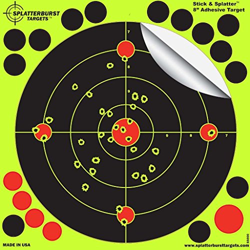 25-pack-8-stick-splatter-adhesive-splatterburst-shooting-targets-instantly-see-your-shots-burst-brig