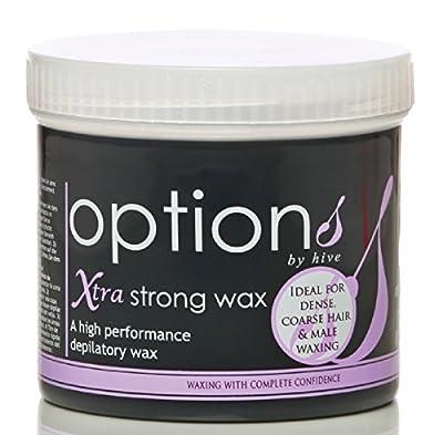 Hive Depilatory Xtra Strong Warm Wax 425g Creme Wax For Face Body Leg Bikini Wax Hair Removal CODE: HOB5280