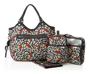 Isoki 18009Reversible Hobo Changing Bag, Nappy Bag, Mommy Bag (REV–Jewel, 40x 45x 20cm