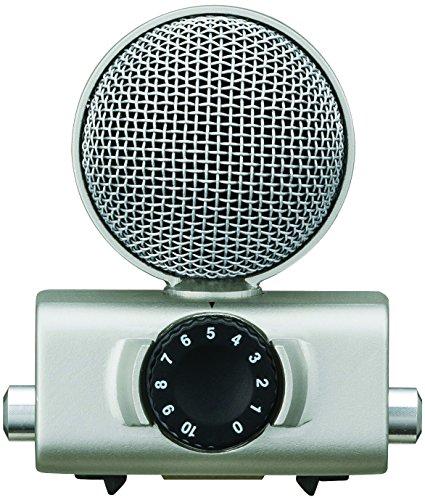 Microfono Stereo a Condensatore MS, mid-side). Composito di 1Mic unidirezionale e 1Mic DX/SX