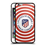 Best Circle Looking Iphone 6 Plus Cases - Official Atletico Madrid Circle 2017/18 Crest Black Hybrid Review