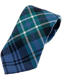 Arbuthnot Ancient 100% Reiver Wool Tartan Tie & Gift Wrap - Made in Scotland