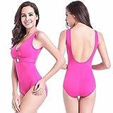 SHISHANG termali donne di formato grandi bikini costume da bagno più fertilizzanti per aumentare il codice era sottile costume da bagno poli petto Europa morbido , pink , xl