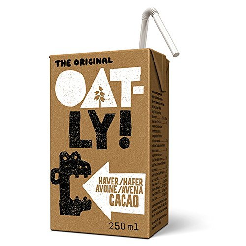 Oatly - Chocolate Oat Drink - Pack of 18 (18 x 250 mililiters)