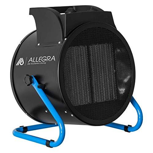 ALLEGRA - Calefactor eléctrico de 9 kW, con termostato y aprox. Cable de 1,5 m. 9000.00W, 400.00V