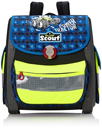 Scout 725009 Buddy Set Kinder-Rucksack, Blau/Gelb