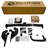 Abnehmbare Westfalia Anhängerkupplung für RAV4 (BJ 03/2006 - 12/2013) im Set mit 13-poligem fahrzeugspezifischen Westfalia Elektrosatz