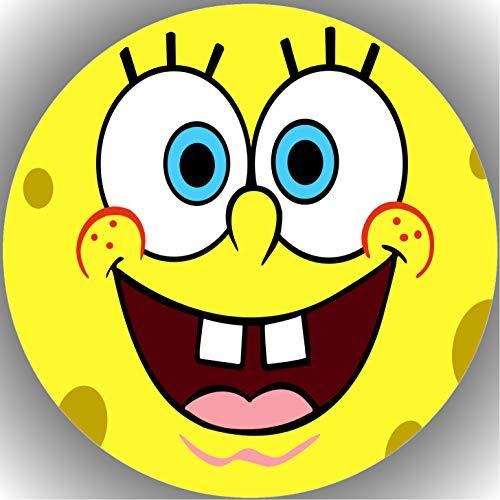 Fondant Tortenaufleger Tortenbild Geburtstag Spongebob T14