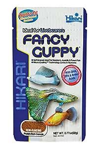 Hikari Fancy Powerful Color Enhancing Diet for Guppies Fish Food, 22g